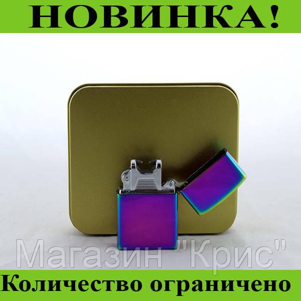 Электроимпульсная зажигалка хамелеон USB 215! Распродажа