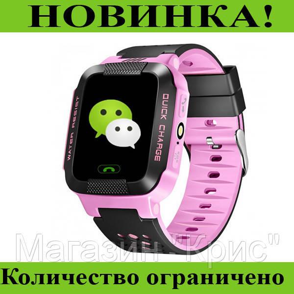Часы наручные Smart Watch Y21/Q528 (розовые)! Распродажа