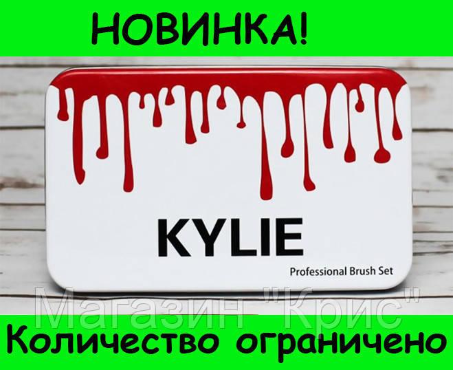 Профессиональный набор кистей для макияжа Kylie Jenner 12 шт! Распродажа