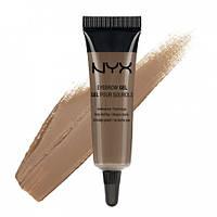 Гель бровей от NYX eyebrow gel Brunette