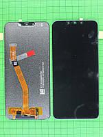 Дисплей Huawei P Smart plus с сенсором, черный self-welded