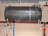 Бойлер косвенного нагрева горизонтальный с качественной теплоизоляцией - 120 л (Польша)