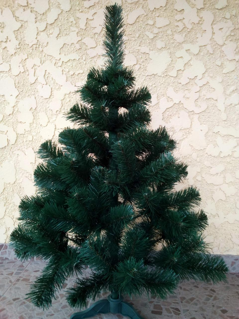 Елка искусственная 0.55м зеленая новогодняя ель праздничная пвх