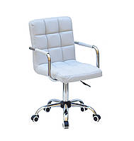 Кресло для мастера, офиса Augusto ARM ЭКО, светло-серый