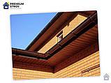 Угол желоба наружный коричневый 90° 130/100 Profil, фото 8