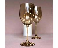 """Бокал для вина 500мл с золотом Olens """"Живая вода"""""""