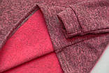 Водолазка теплая р.152,158,164 для дівчинки SmileTime утепленная Melange, бордо, фото 2