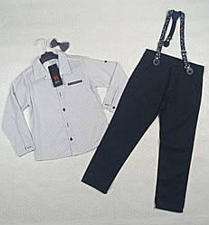 Костюм-двойка.  рубашка,брюки на мальчика. На 6 лет . Венгрия