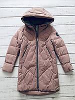 Зимнее пальто для девочек Levin Force (140-164)