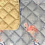 """Ковдру на овчині """"ODA"""" Розмір 175*215 см   Ковдра вовняна . Стьобана двоспальну ковдру, чохол: 100% Бавовна, фото 3"""