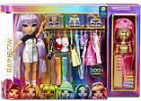 """Набор с куклой и одеждой """"Модная Студия"""", Rainbow Surprise Rainbow High Fashion Studio, Оригинал из США, фото 6"""
