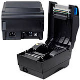 Термопринтер этикеток, наклеек, штрих-кода Xprinter XP-365B 80мм, фото 2