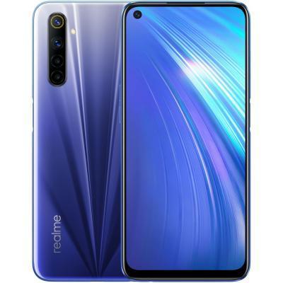Мобильный телефон Realme 6 4/128GB Blue