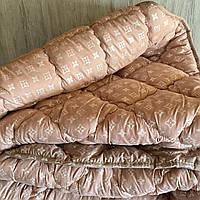 Одеяло Ода Полуторное 155*210 см. на холлофайбере ODA | Ковдра ода, наповнювач холлофайбер | Зимнее одеяло