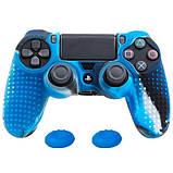 Чехол силиконовый для геймпада DualShock 4 PS4 антискользящий, фото 3