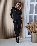 Теплый женский спортивный костюм с капюшоном 11-343-1, фото 3