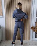 Теплый женский спортивный костюм с капюшоном 11-343-1, фото 6