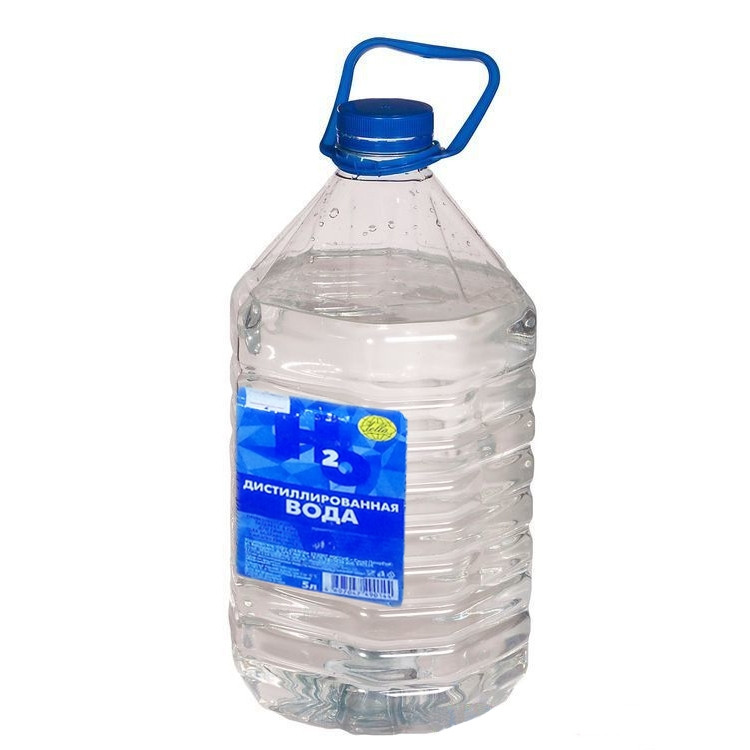 Вода дистилированная (литр.)