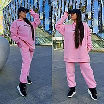 Костюм спортивный MINIMO GIRL свободная кофта и штаны на флисе, фото 3