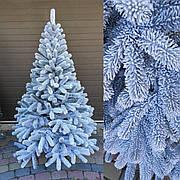Буковельская заснеженная 2.1м литая елка искусственная ель праздничная со снегом