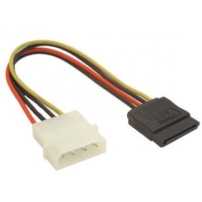 Кабель питания SATA power 0.1m Atcom (3798)