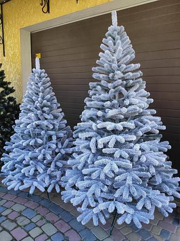 Буковельська засніжена 1.8 м лита ялинка штучна ялинка святкова зі снігом, фото 2