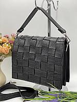 Женский сумка на плечо 079 черный женские клатчи, женские сумки купить оптом в Украине, фото 1