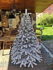 Буковельська засніжена 1.8 м лита ялинка штучна ялинка святкова зі снігом, фото 3