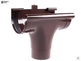 Зливоприймач прохідний коричневий Profil 130/100