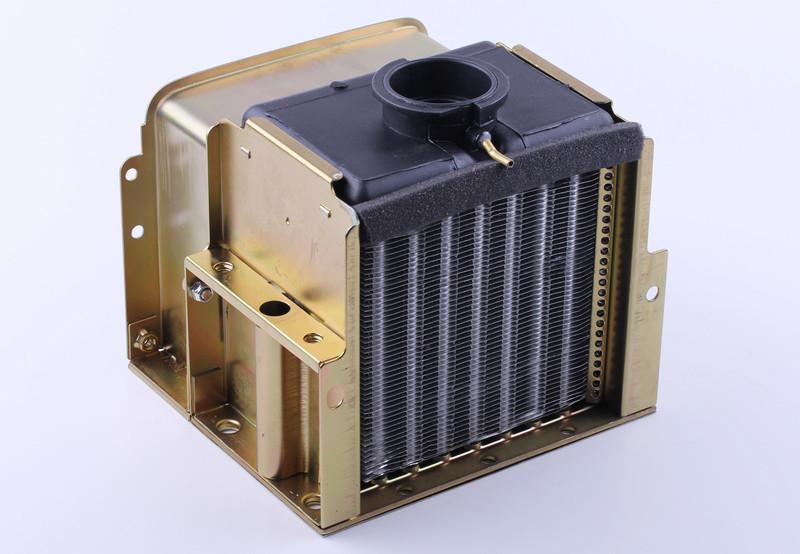 Радиатор алюминий (ZUBR original) - 195N