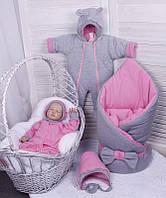 Набор для выписки Mini (6 предметов) розовый