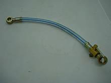 Кран топливный с трубкой (топливопровод бак - фильтр) - ZS/ZH1100