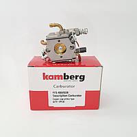 Карбюратор для бензопилы 4500 5200 с подкачкой Kamberg