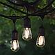 Уличная гирлянда с ретро лампами LED Edison 15шт, 15метров с переходником, фото 8