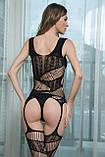 Сексуальная боди сетка бодистокинг сексуальное белье эротическое белье, фото 5