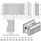 Радиатор стальной Daylux 22-К 500х1800 боковое подключение, фото 2