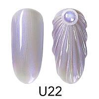 Гель-лак Venalisa для дизайна ногтей Pearl Nail Gel U22, 5 ml.