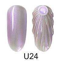 Гель-лак Venalisa для дизайна ногтей Pearl Nail Gel U24, 5 ml.