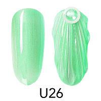Гель-лак Venalisa для дизайна ногтей Pearl Nail Gel U26, 5 ml.