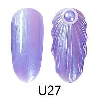 Гель-лак Venalisa для дизайна ногтей Pearl Nail Gel U27, 5 ml.