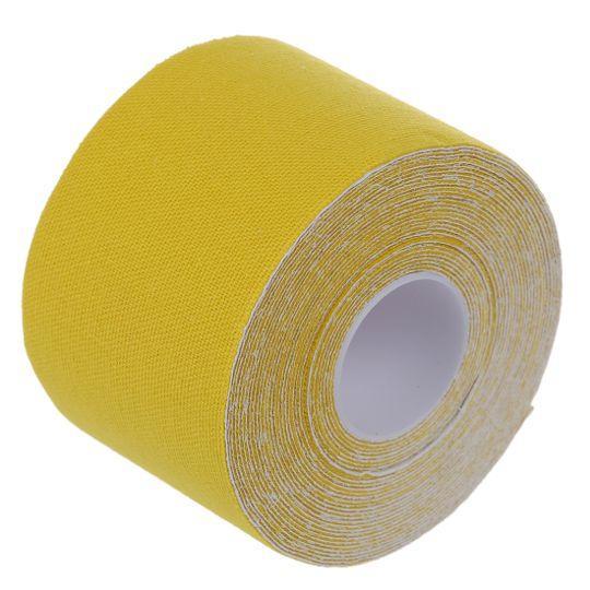 Кинезиологическая лента, тейп, tape 2.5X500 см Желтый