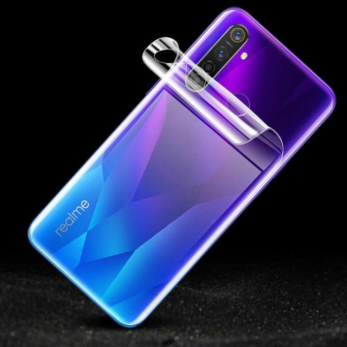 Гидрогелевая защитная пленка Recci для задней панели Realme C1