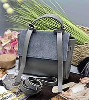 Женский клатч 037 серый женские клатчи, женские сумки купить оптом в Украине, фото 1