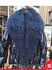Короткий пуховик жіночий вовняної комір вільний блискучий модний 3кол