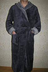 Мужской махровый  халат, фото 3