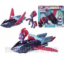 Самолет  My Little Pony Хранители Стражи гармонии Темпест Шэдоу Guardians of Harmony Tempest Shadow Sky Skiff