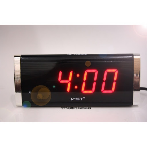 Электронные настольные часы VST-730