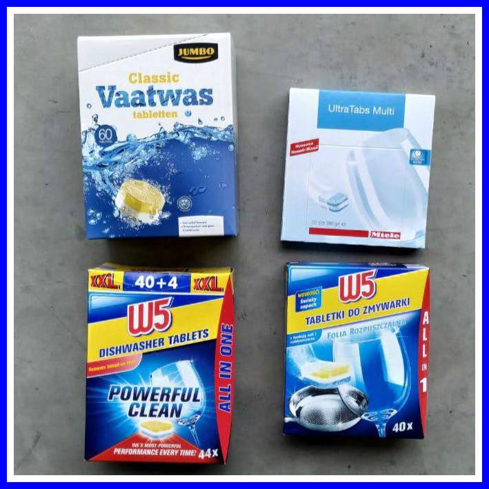 Таблетки для миття посуду ОПТ Alio W5 Una Dalli complete 40 шт
