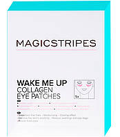Коллагеновый Патчи для Кожи Вокруг Глаз Magicstripes Wake Me Up Collagen Eye Patches ( 5 шт)