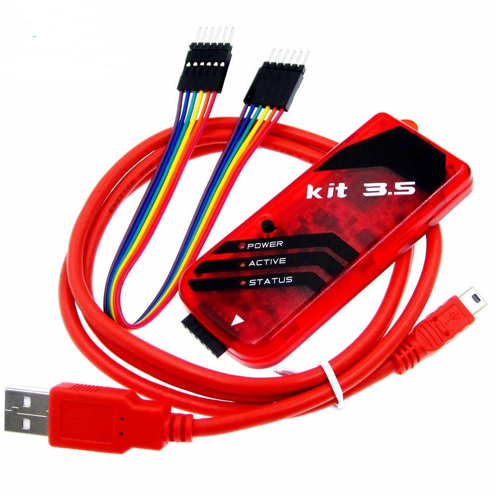 PICkit3.5 USB Програматор PIC контролерів, мікросхем пам'яті EEPROM і ключів KeeLOQ
